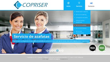 Copriser webpage