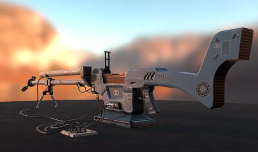 Positron Rifle