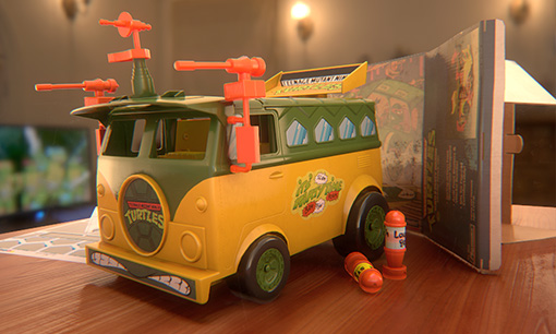 TMNT 1989 Party Wagon