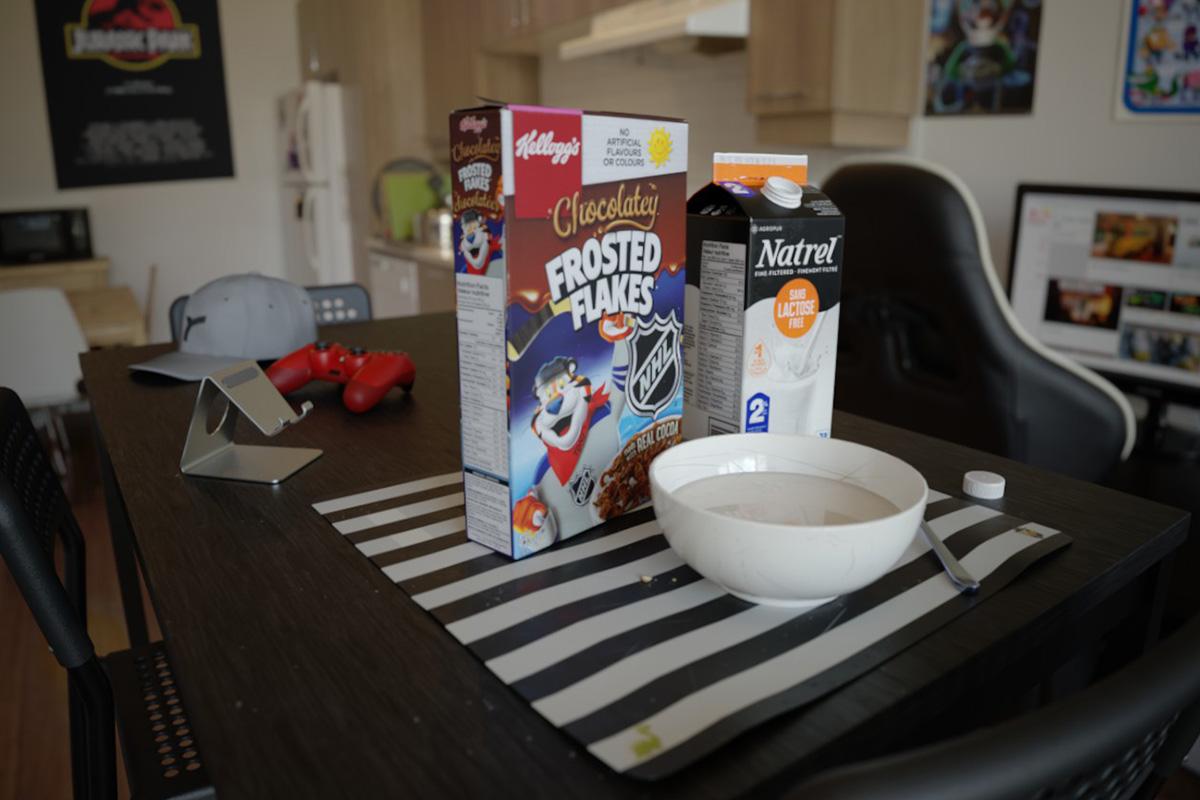 Breakfast model 00