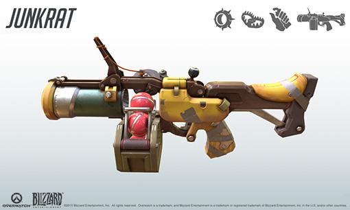 Junkrat's Grenade Launcher